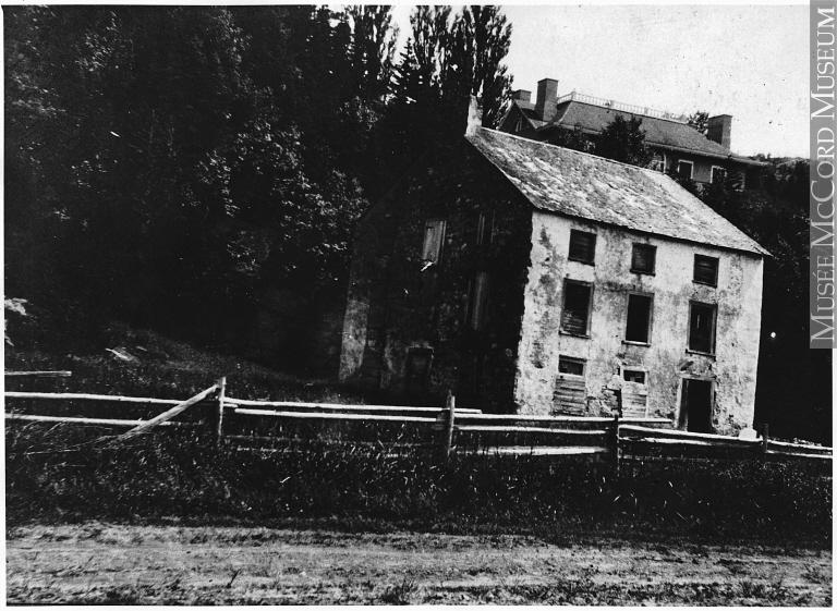 Moulin du village de la Pointe-Sèche (vers 1910) - Musée McCord